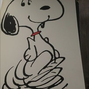Other - Snoopy 8x10 art